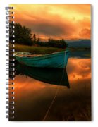 The Sky's On Fire Spiral Notebook