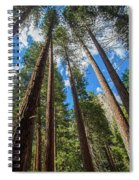 The Sky's The Limit Spiral Notebook