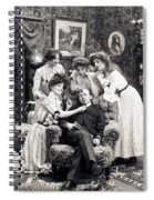 The Sleepy Lover, 1902 Spiral Notebook
