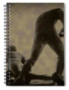 The Slide - Kick Up Some Dust Spiral Notebook