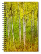 The Small Forest Spiral Notebook