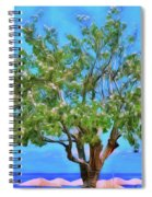 The Smiling Tree Of Benitses Spiral Notebook