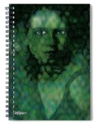 The Snake Lady Spiral Notebook