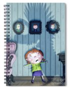 The Snarkle Beast Spiral Notebook