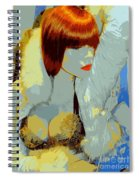 The Snow Bunny Spiral Notebook