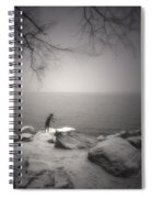 The Snow Gatherer Spiral Notebook