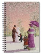The Snowman Spiral Notebook