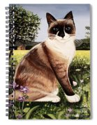 The Snowshoe Cat Spiral Notebook