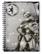 The Snowtrooper Spiral Notebook