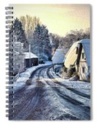 The Snowy Cottages Spiral Notebook