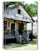 The Social Hall Spiral Notebook