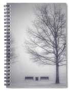 The Soft Breath Of Winter Spiral Notebook