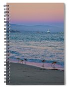 The Soft Side Of Sunset Spiral Notebook