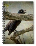 The Song Of Nature Spiral Notebook