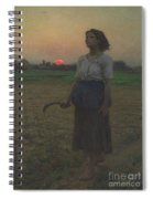 The Song Of The Lark Spiral Notebook