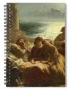 The Song Of The Troubadours Spiral Notebook