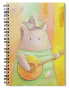 The Song Of Venice Spiral Notebook