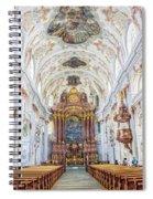 Lucerne's Jesuit Church  Spiral Notebook