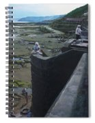The South Bay In Scarborough. Spiral Notebook