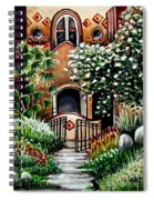 The Spanish Gardens Spiral Notebook