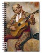 The Spanish Guitarist Spiral Notebook