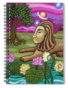 The Sphinx Spiral Notebook