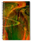 The Spirit Glows Spiral Notebook