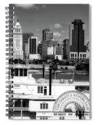 The Spirit Of America And Cincinnati  Spiral Notebook