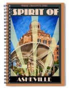 The Spirit Of Asheville Spiral Notebook