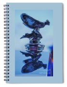 Reflecting On The Spirit Of Ecstasy  Spiral Notebook