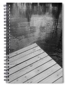 The Spirits Of Kripplebush Pond Spiral Notebook