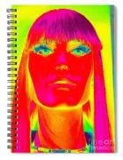 The Spirit Of Scarlett Spiral Notebook