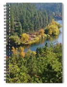 The Spokane River  Spiral Notebook