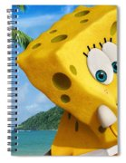 The Spongebob Movie Sponge Out Of Water Spiral Notebook