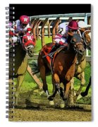 The Sport Of Kings Spiral Notebook
