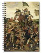 The St Martin's Day Kermis Spiral Notebook