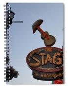 The Stage Nashville Spiral Notebook