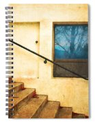 The Stairway Of Reflections Spiral Notebook