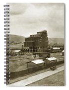 The Stanton Colliery Empire St. The Heights Wilkes Barre Pa Early 1900s Spiral Notebook