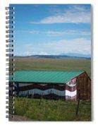 The Star Spangled Barn Spiral Notebook