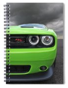 The Stare - Challenger Rt Spiral Notebook