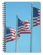 The Stars And Stripes Spiral Notebook
