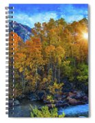 The Stars Of Autumn Spiral Notebook