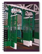 The Starting Gate Display In The Kentucky Derby Museum Spiral Notebook