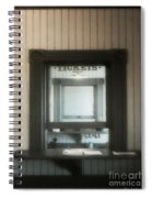 The Stationmaster's Window Spiral Notebook