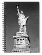 The Statue Of Liberty  Photo Spiral Notebook