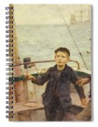 The Steering Lesson Spiral Notebook