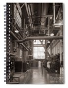 The Stegmaier Brewery Boiler Room Wilkes Barre Pennsylvania 1930's Spiral Notebook