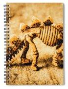 The Stegosaurus Art In Form Spiral Notebook