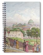 The Steps At The Rue Alboni Spiral Notebook